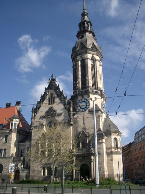 image gallery leipzig churches. Black Bedroom Furniture Sets. Home Design Ideas