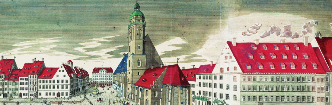 The St Thomas's Churchyard in Leipzig (1749)